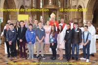 Confirmations - UP de Quaregnon-Wasmuël